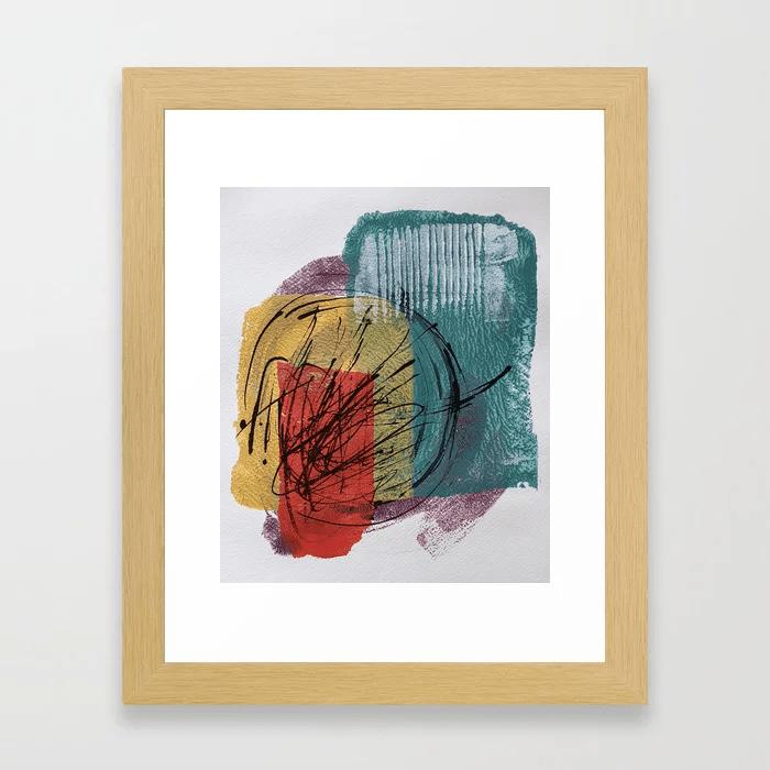 Julie Ellis Artist_Mini Framed Print-min