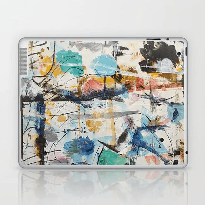 Julie Ellis Artist Laptop Skin